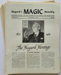 Hugard's Magic Monthly - Volumes I, II, III and IV