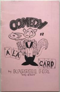 Comedy a la Card