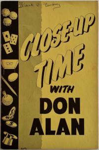 Close-Up Time wit Don Alan