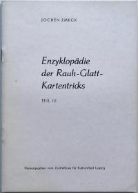 Enzyklopädie der Rauh-Glatt-Kartentricks - Teil III