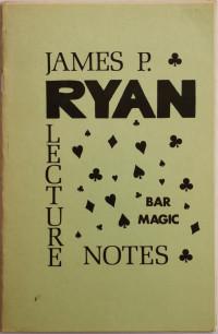Lecture Notes Bar Magic