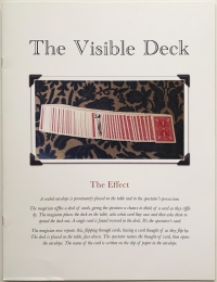 The Visible Deck