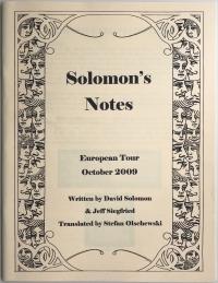 Solomon's Notes