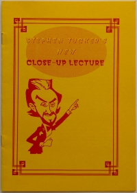 New Close-Up Lecture