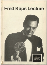 Fred Kaps Lecture