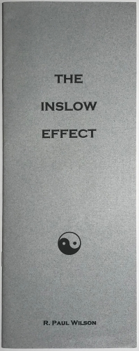 The Inslow Effect