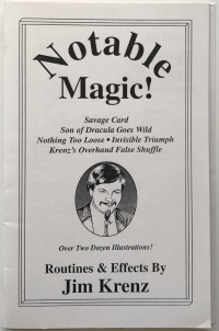Notable Magic!